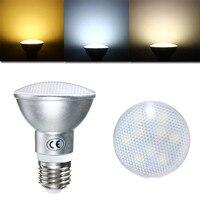 40 шт./лот E26/E27 Par20 светодиодный прожектор затемнения AC85-265V 9 Вт светодиодные лампы света теплый белый/натуральный белый/холодный белый свет в ...