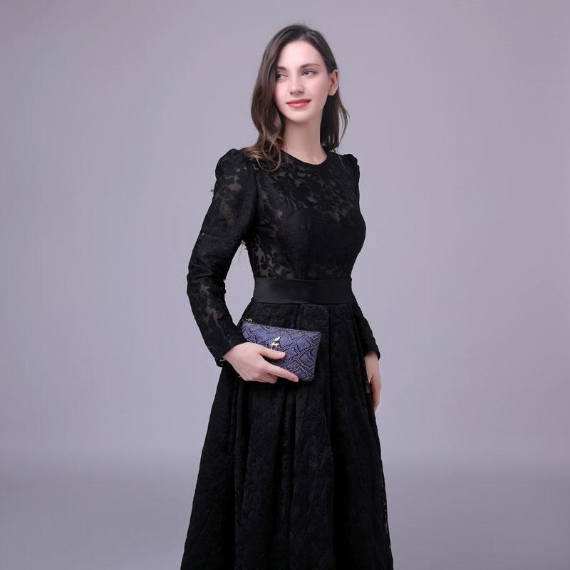 Soirée Formelle Robes Asymétrique Dentelle Faible Haute Longue Maxi Mariée De Spéciale Noir Bal Offre Robe 2019 qT1Xxw7q