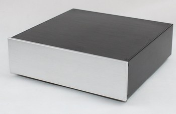 WA101 All aluminum amplifier chassis / Preamplifier case / AMP Enclosure /DIY box (320 *90*305mm)