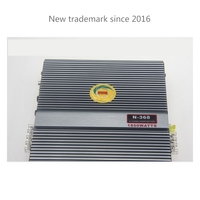 2 Channel 2 Way Stereo Car Amplifier Subwoofer High Power