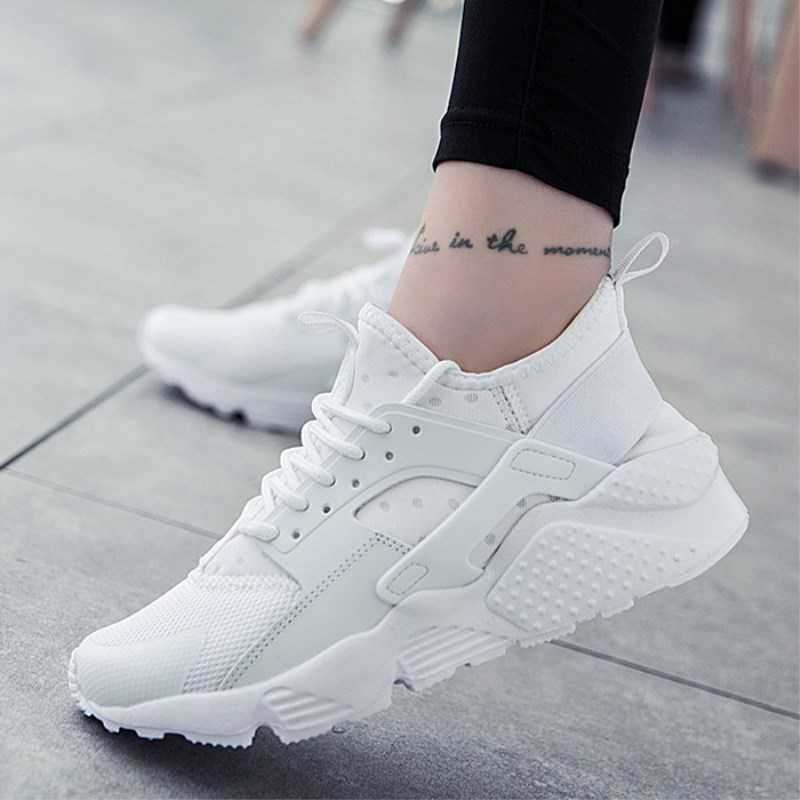 Fashion 2018 Casual Shoes Woman Summer Comfortable Breathable Mesh Flats Shoes Female Platform Sneakers Women Chaussure Femme