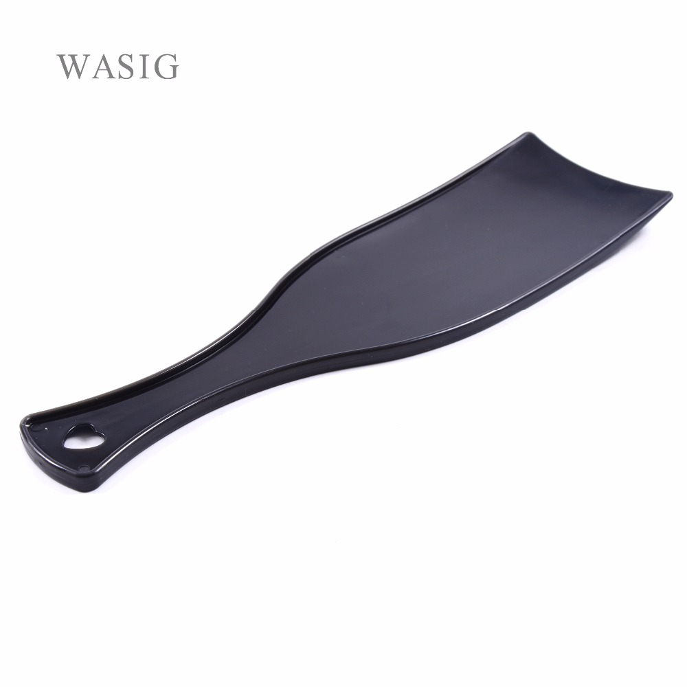 Pro Salon Hairdressing Dyeing Board DIY Hair Coloring Tint Long Coating Plate For Barber Design Styling Tools Accessories