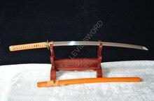 送料スタンド  刃トップ品質鍔日本のサムライソード刀