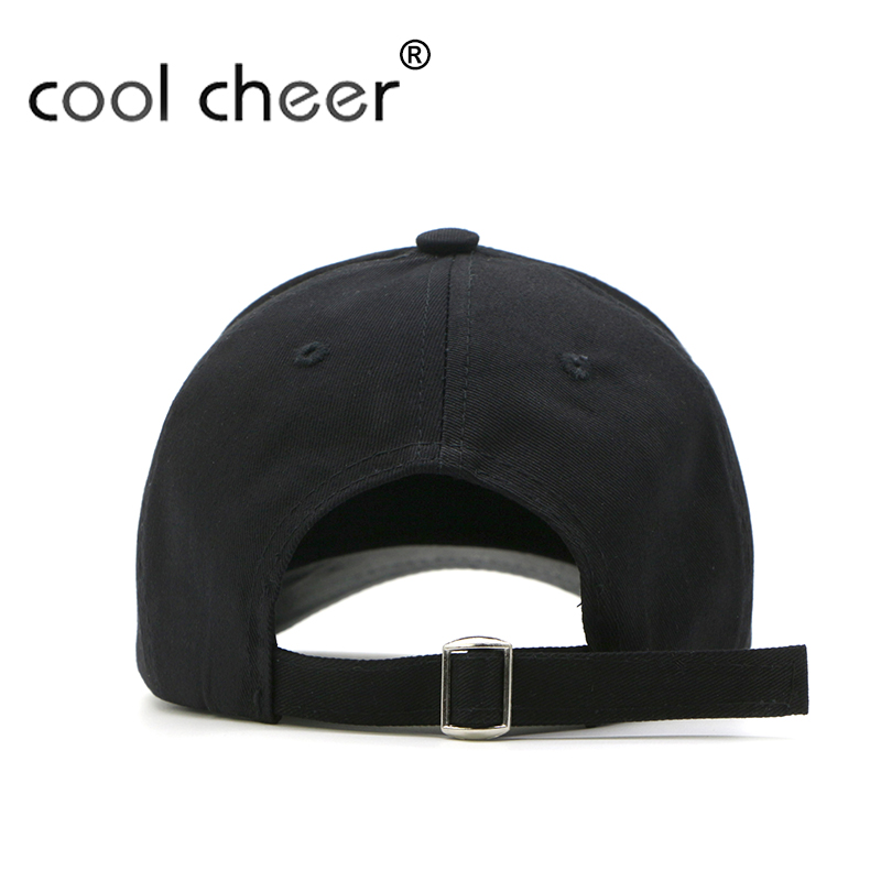 CoolCheer  Cotton Baseball Caps With Dad Hat Strap Back Outdoor Blank  Sport Cap Hat For Men Women Custom Snapback For Adult-in Baseball Caps from  Apparel ... d7de2c92a0d