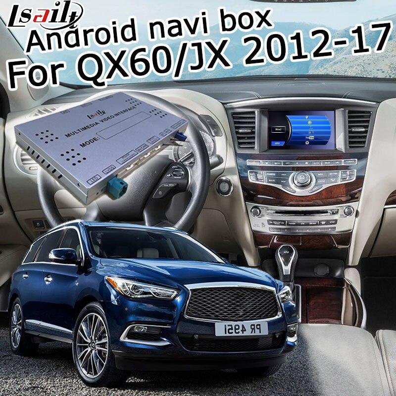 2012 Infiniti Qx60: Lsailt Android GPS Navigation Box For Infiniti QX60 / JX