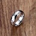 Mprainbow Мужские Кольца Серебро Tungsten Carbide многогранный Кольцо для Мужчин Полированная Обручальное Группа Geomertic Дизайн Ювелирных Изделий