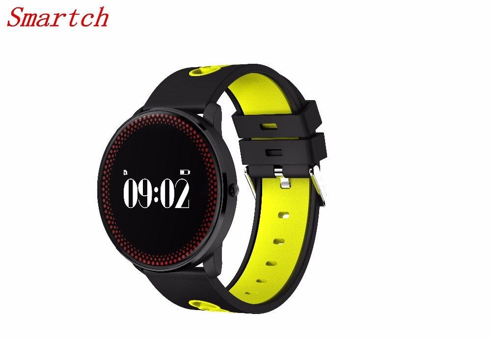 Smartch Ultradünne Smart Armband Bluetooth 4,0 Sport Smart Band Uhren Blutdruck Herzfrequenz Smart Armband
