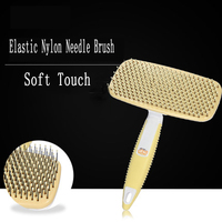 Lice Pets Brush Comb Dog Grooming Professional Handy Pet Brush Grooming Pulgas Shower Mascotas Dogs Puppies Supplies 70A0737