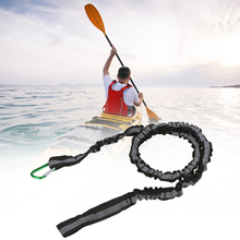 Outdoor Fishing Reflective Kayak Canoe Paddle Leash Surfboard Surfing Rope Safety Elastic Cord