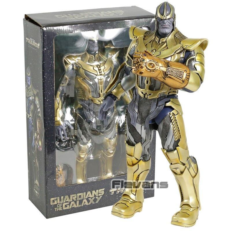 Giocattoli caldi guardiani della Galassia Thanos 1/6 Bilancia PVC Action Figure Da Collezione Model Toy