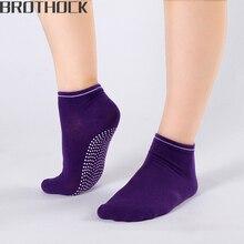 Brothock Factory direct female Yoga sports slip socks Women cotton candy sport quick dry Summer boat