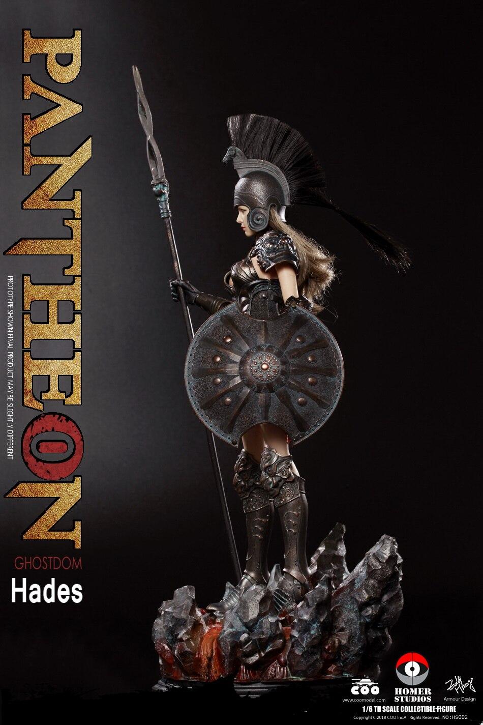 COOMODEL X HOMER HS002 PANTHEON HADES GODDESS OF UNDERWORLD 1 6 Figure with Base