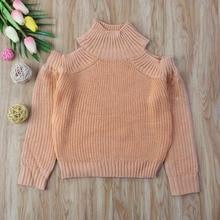 Семейная одежда; одинаковый свитер для мамы и дочки; топы с открытыми плечами; трикотажная одежда с длинными рукавами; Топ свитер