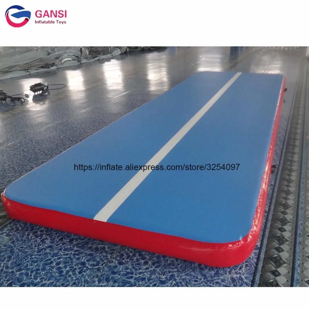 matelas de gymnastique gonflable rebondissant tapis de piste gonflable de 5m de long pour trampoline livraison rapide
