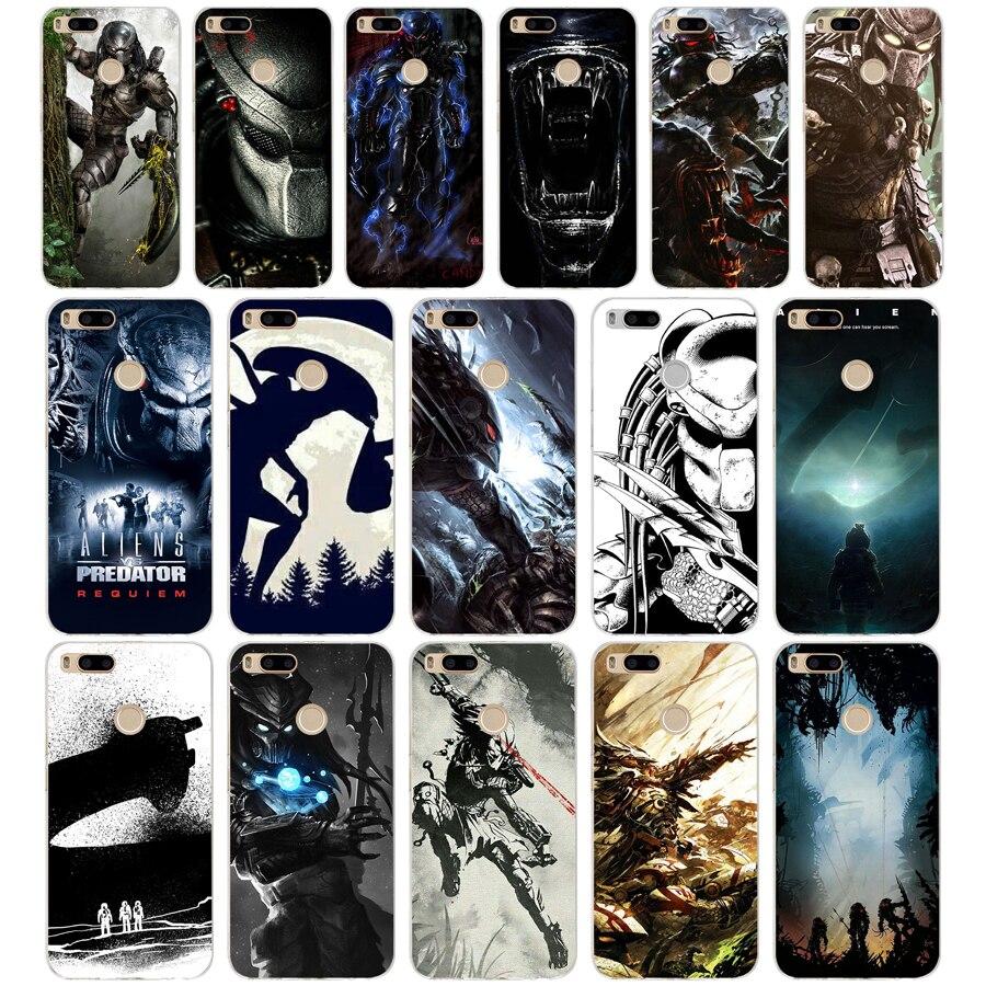 16AQ Alien Vs Predator Artwork Silicone Soft Tpu Cover phone Case ...