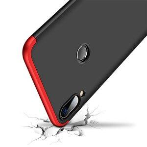 Image 4 - 3 in 1 360 Tempered Glass + Case For ASUS Zenfone Max Pro M1 ZB602KL Back Cover Case for Asus ZB602KL 602KL ZB 602KL Glass Gift