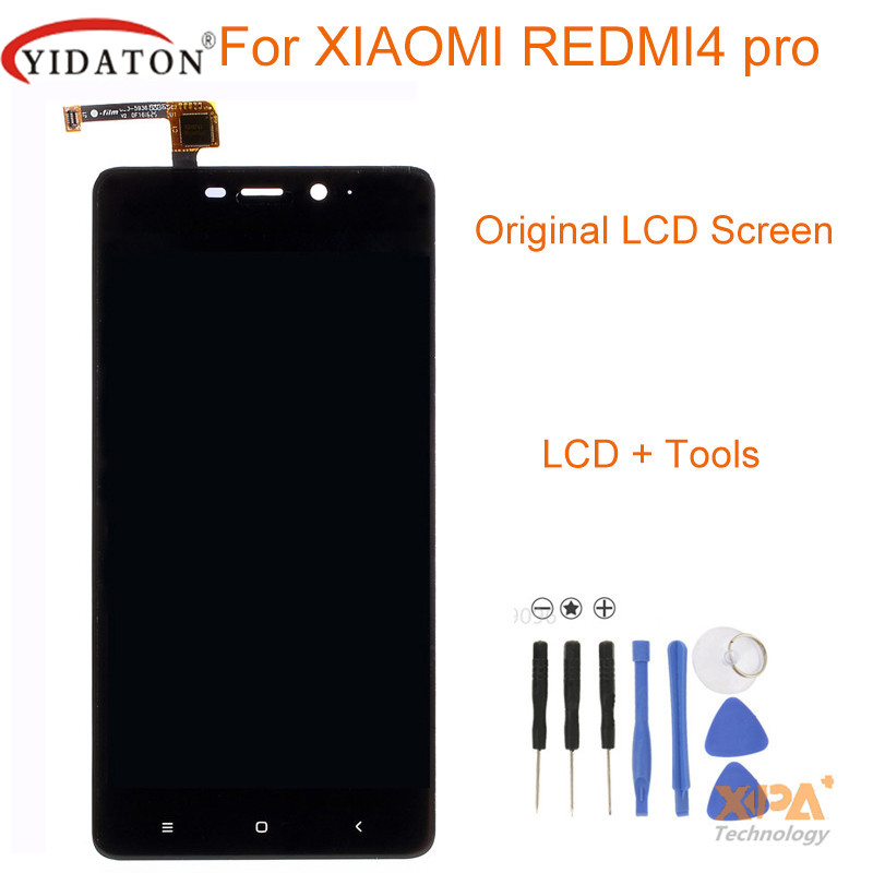 YIDATON For Xiaomi Redmi 4 Pro original LCD Display and Touch Screen Digitizer Replacement Phone Assembly