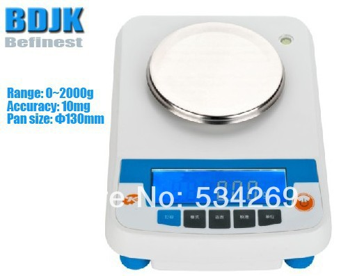 2000g Electronic Balance Measuring Scale with Different Units / Counting Balance and Weight Balance
