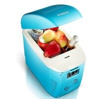 7.5L мини холодильник быстрого охлаждения нагрева Авто морозильник Портативный холодильник бытовой низкая Шум энергосбережения Водонепрон