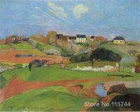 Landscape Paul Gauguin famous paintings oil canvas reproduction High quality Hand painted
