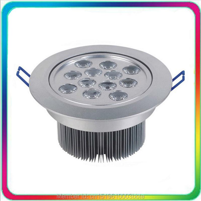 60PCS garantija 3 gadi Epistar mikroshēma 18W 12W 7W LED lejupvērsts apgaismojums LED spuldzes griestu apgaismojums