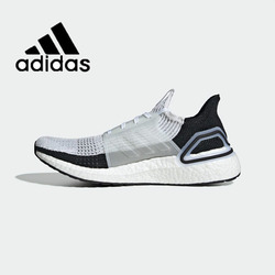 Original Authentic Adidas UltraBoost 19 UB19 Unisex Sneakers Wear Running Shoe Breathable 2019 Spring New Leisure Lace-Up B37705