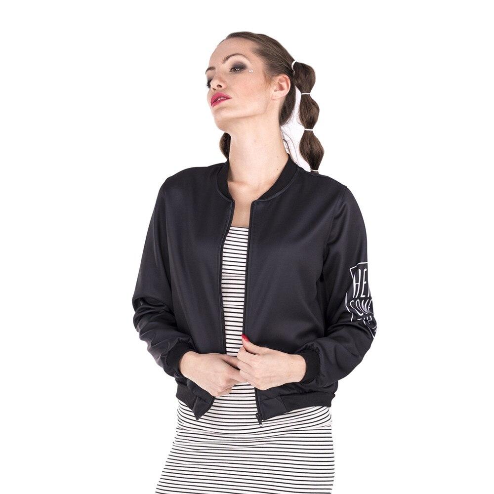 High Quality Women Bomber   Jacket   Holly Fries 3D Printing Jaqueta Feminina Fashion Cozy   Basic     Jacket   for Woman