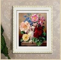 Broderie, pots de fleurs 2