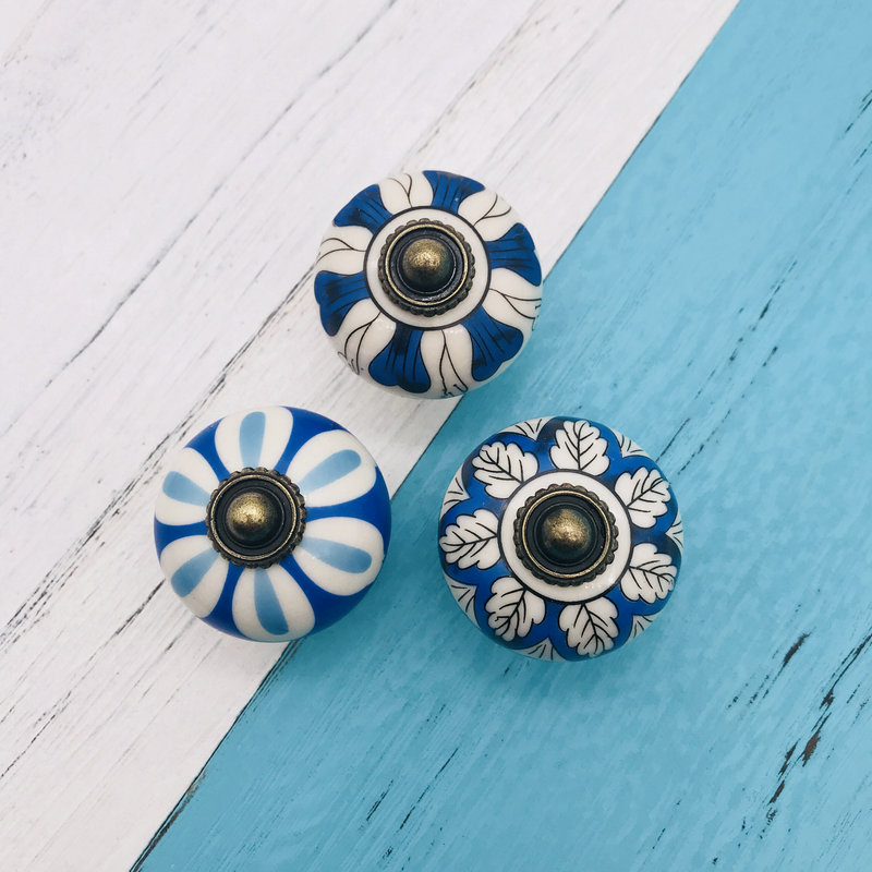 6x 40mm Furniture Hardware Door Handle Ceramic Drawer Cabinet Knobs and Handles Knobs Door Cupboard Kitchen Pull Handles kak pumpkin ceramic handles 40mm drawer knobs cupboard door handles single hole cabinet handles with screws furniture handles