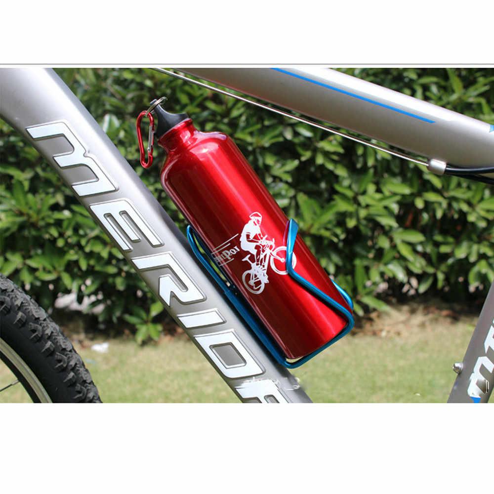 ث #1 قطعة دراجة جبلية الألومنيوم مزدوجة زجاجة المياه حامل قفص رف الدراجات المشروبات حامل في الهواء الطلق ركوب حامل مشروبات