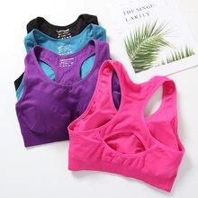Soutien-gorge de Sport pour femmes, Push Up, Fitness, Yoga, sous-vêtements hauts, gilet de course, vêtements de gymnastique bh