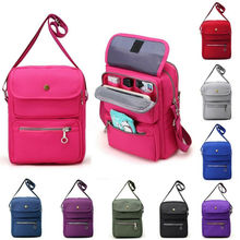 Women Multi-layer Messenger Bags Ladies Waterproof Solid Nylon Crossbody Bolsas Femininas Multifunction Shoulder