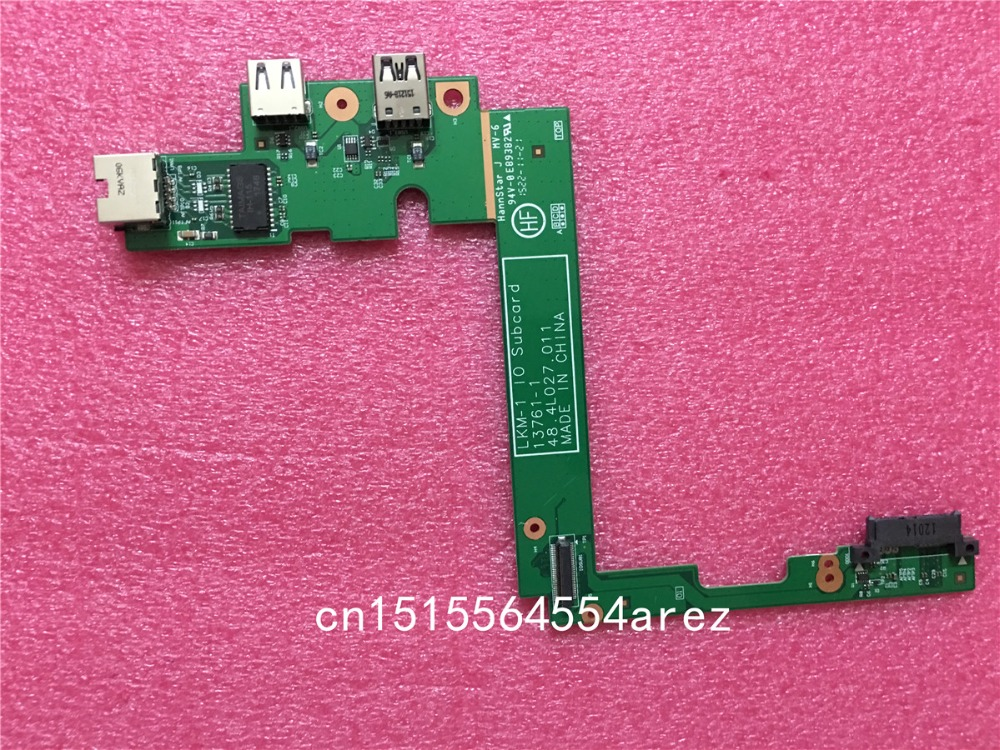 New Original laptop Lenovo ThinkPad T540P W540 W541 USB Ethernet Board Port 04X5512 48.4LO27.011 кошелек quiksilver theeverydaily black page 3