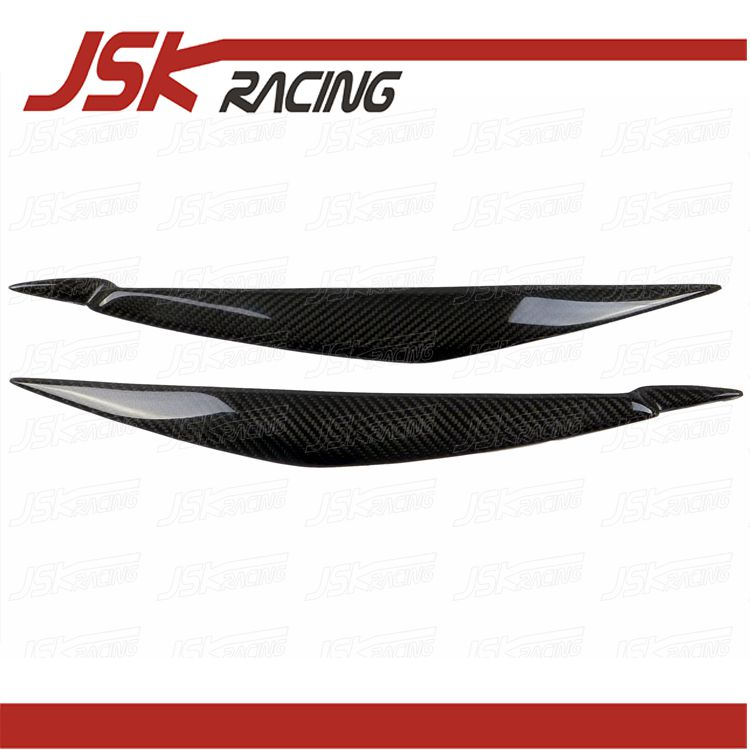 2007-2013 CARBON FIBER EYELID FOR BMW X5 X6 E70 E71(JSKBWX607004) car styling carbon fiber rear view mirror cover for bmw x5 e70 x6 e71 2007 2013