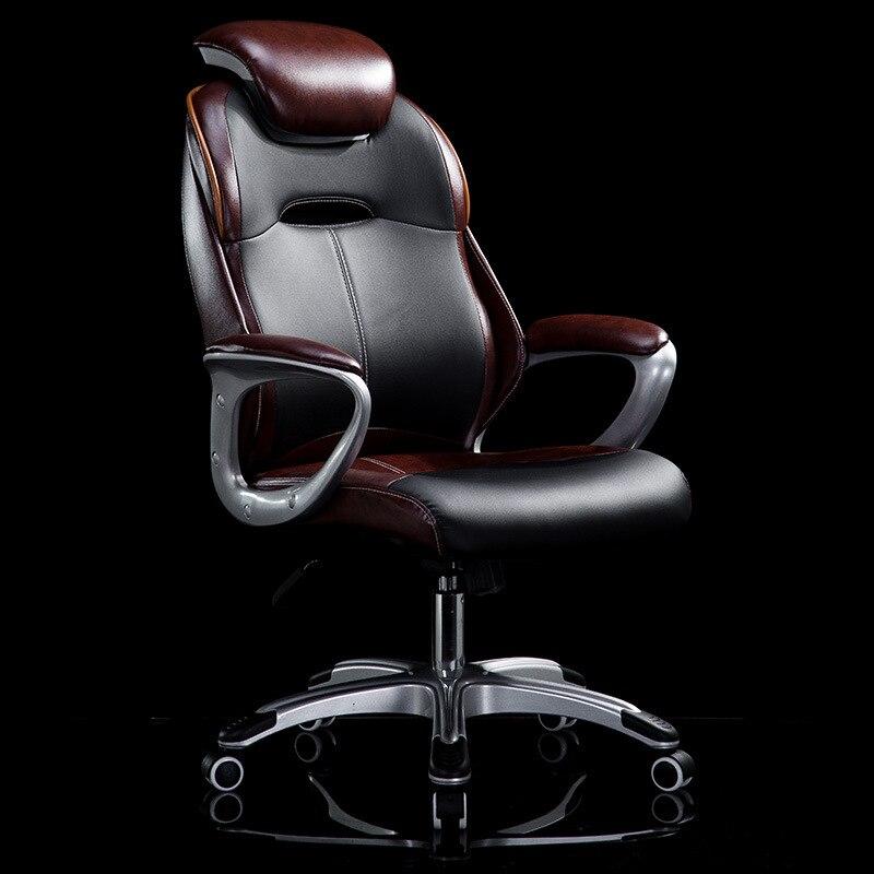 de cuero con respaldo alto ejecutivo escritorio de oficina ergonmico silla con respaldo y brazos comuter