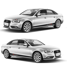 World Datong car styling sport sticker For Audi A1 A3 A4L A6L whole body auto stickers