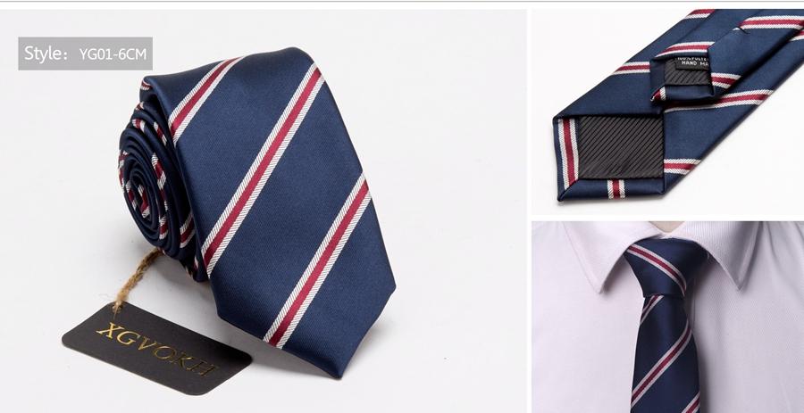 Men ties necktie Men's vestidos business wedding tie Male Dress legame gift gravata England Stripes JACQUARD WOVEN 6cm 9