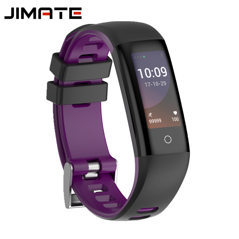 Jimate G16 Pedometer Smart Wristband Bluetooth Smartband Heart Rate Monitor Blood Pressure Bracelet Color Screen for IOS Android jimate g16 pedometer smart wristband bluetooth smartband heart rate monitor blood pressure bracelet color screen for ios android