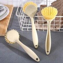 Многофункциональная кухонная Чистящая Щетка с длинной ручкой, щетка для мытья посуды, щетка для мытья посуды, инструмент для чистки горшков, кухонные принадлежности 19jun17