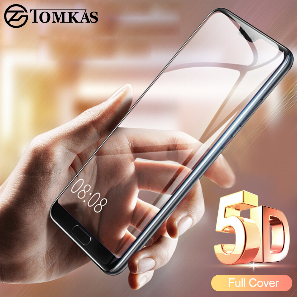 TOMKAS 5D Protective Glass on the For Huawei P20 Lite Glass Tempered Screen