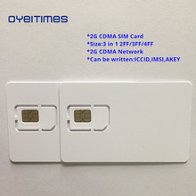 OYEITIMES Blank CDMA SIM Cards 2G Network Card Programable Mini,Micro and Nano
