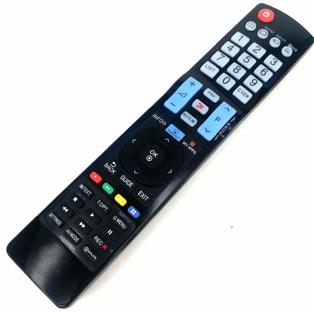 NEW Remote Control For LG LED LCD TV AKB73756504 AKB72914071 AKB73615315 AKB73756510 AKB73756502 32LM620T 60LA620S