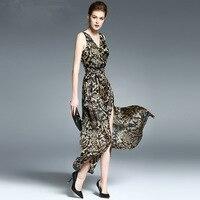 Пикантные с v образным вырезом спинки печати комбинезон Для женщин на шнуровке Холтер Высокая Талия Короткие Комбинезоны Разделение широки