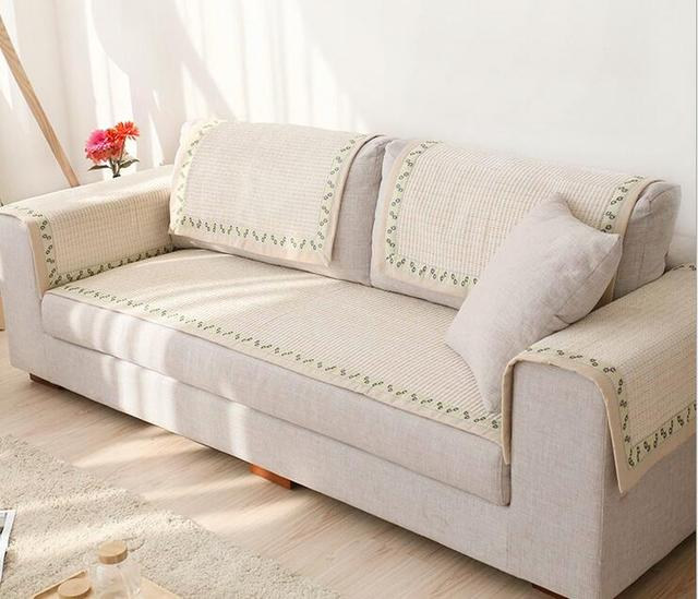 70cm Modern Sofa Cover Slipcover Cotton Sofa Towel Armrest ...
