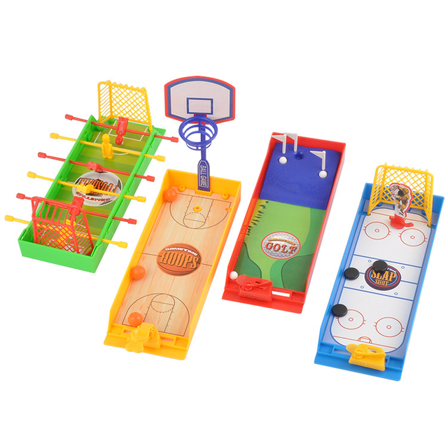 Children Brain Game Interactive Desktop Toys Finger Football