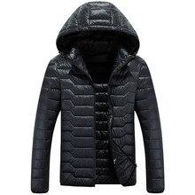 2017 spring men's short paragraph solid color jacket hooded fashion portable thin Slim M-3XL High-quality silk cotton MK423