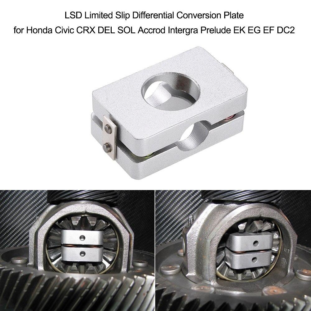 LSD Limited Slip Differential Conversion Plate for Honda Civic CRX DEL SOL Accrod Intergra Prelude EK EG EF DC2