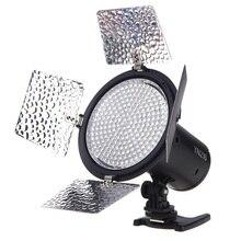 Yongnuo yn216 3200 k-5500 k led luz de vídeo camera shoot com 4 placas de cor para canon nikon dslr camera