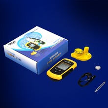 Lucky FFCW1108-1 Portable Fish Finder Echo Sounder 120m Wireless Fish Finder Alarm 40M/130FT Sonar Depth Ocean River fishfinder