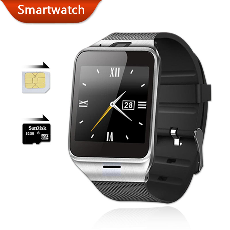 Bluetooth Smart Watch Android Wear Aplus GV18 Smartwatch with SIM Card Intelligent Waterproof Watches Mobile Phone